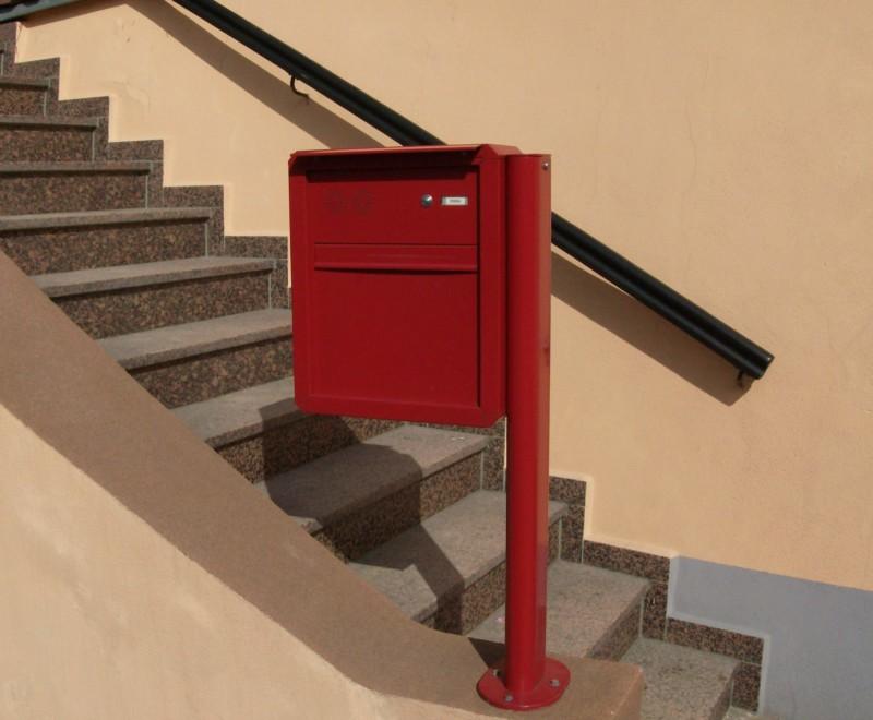 freistehende anlagen briefkastenhandel hiller