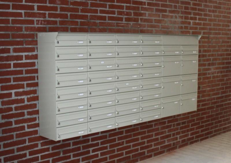 aufputzanlagen briefkastenanlagen briefkastenhandel hiller