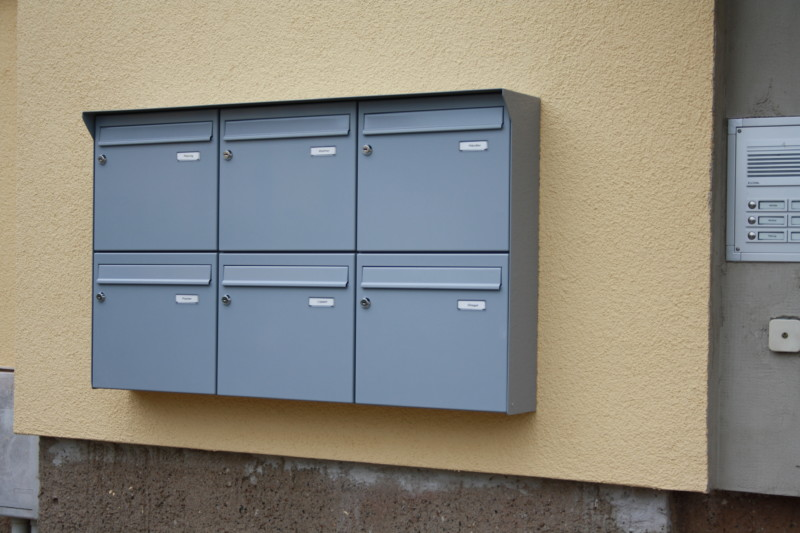 aufputzanlagen briefkastenanlagen briefkastenhandel-hiller